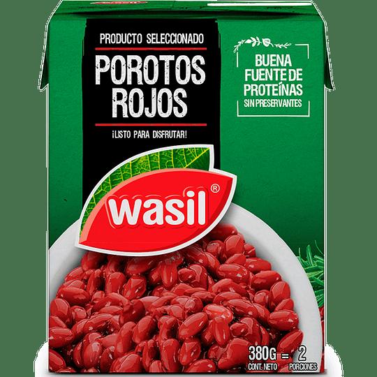Porotos Rojos Wasil (4 x 380 GR)