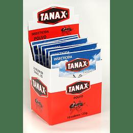 Insecticida en Polvo Tanax (10 x 25 G)