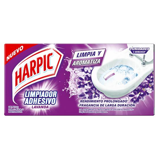 Limpiador de Inodoro Adhesivo Harpic (6 x 27 GR)