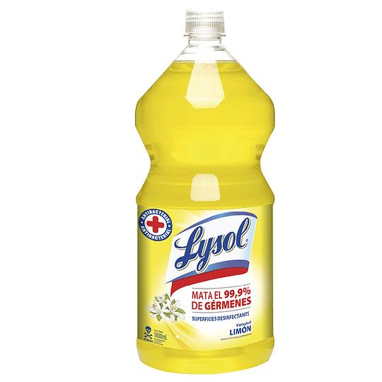 Limpiador Desinfectante Lysol (3 x 1.8 LT)