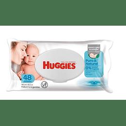 Toallitas Húmedas Huggies Puro y Natural (9 x 48 UD)