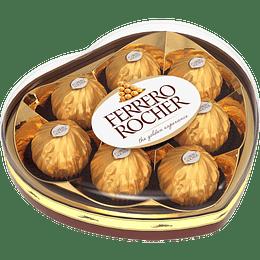 Bombón Ferrero Rocher Corazón 100 G