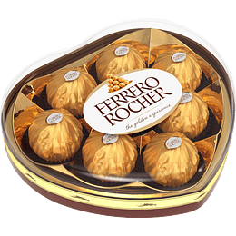 Bombón Ferrero Rocher Corazón (100 G)