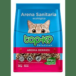 Arena Sanitaria para Gatos Topk9 Ecológica (5 x 2 KG)