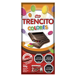 Chocolate Trencito Colores (19 x 125 G)