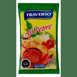 Ají Pebre Bolsa Traverso (5 x 1 KG)