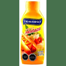 Mostaza Traverso (6 x 240 G)