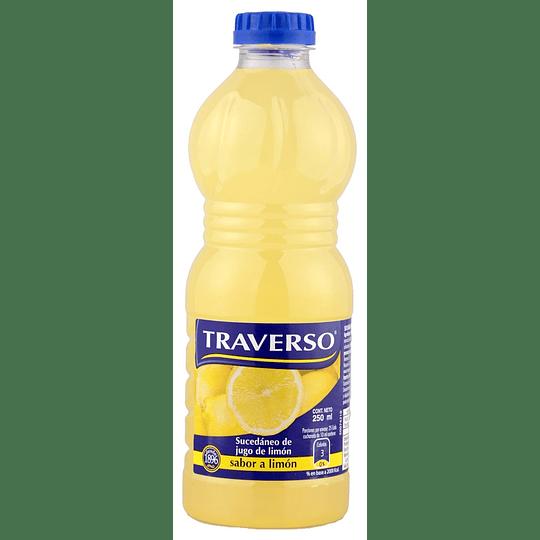 Jugo de Limón Traverso (6 x 250 ML)