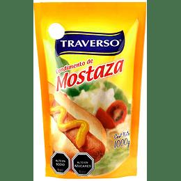 Mostaza Doypack Traverso (3 x 1 KG)