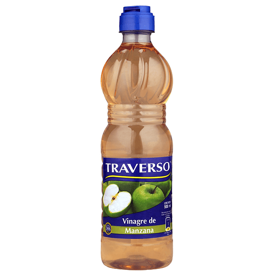 Vinagre de Manzana Traverso (6 x 500 ML)