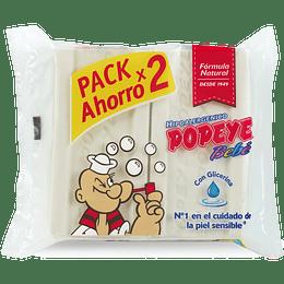 Jabón en Barra Bebé Popeye (2 x 170 G) x 5