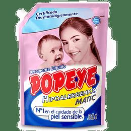 Detergente Líquido Hipoalergénico Doypack Popeye (3 LT)