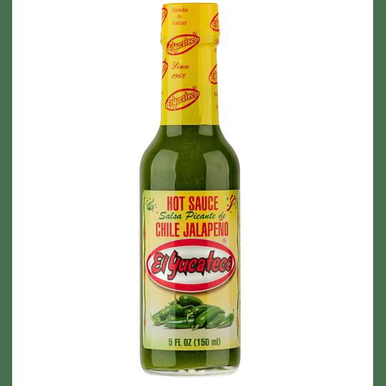 Salsa de Ají Jalapeño El Yucateco (150 ML)