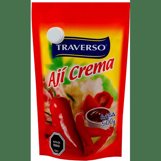 Ají Crema Doypack Traverso (6 x 500 G)