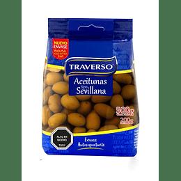 Aceitunas Sevillanas Traverso (6 x 200 G)