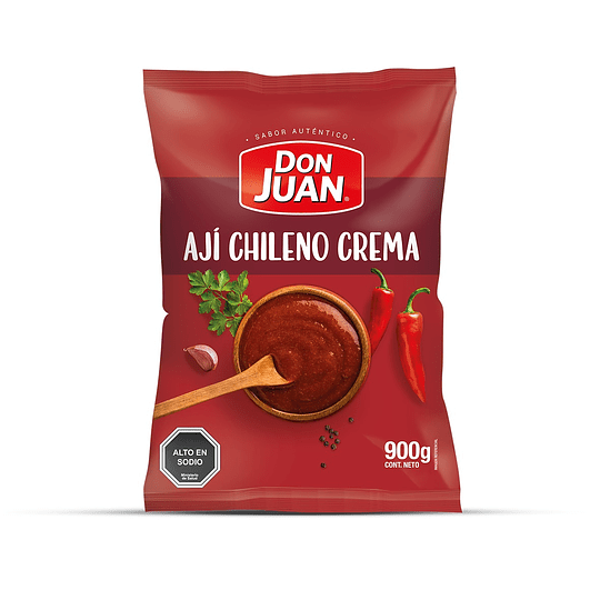 Ají Chileno Crema Don Juan (15 x 900 G)
