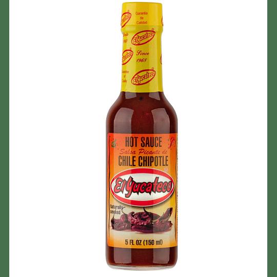 Salsa de Ají Chipotle El Yucateco (150 ML)