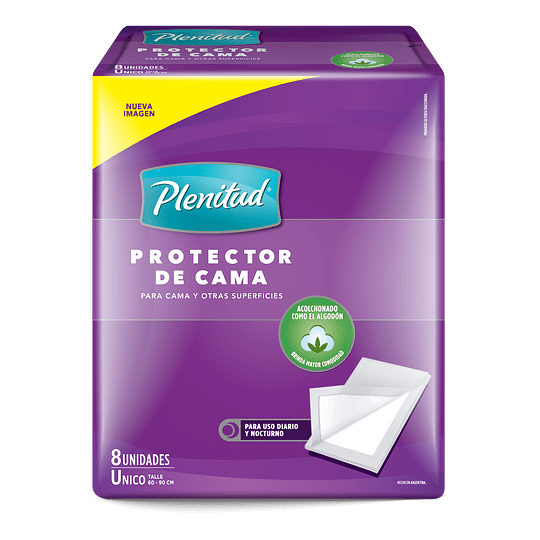 Protector de Cama / Sabanilla Plenitud (5 x 8 UD)
