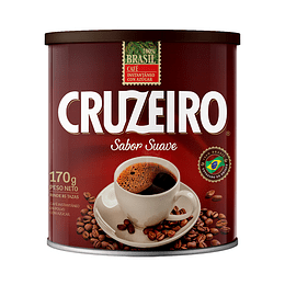Café Cruzeiro Suave Tarro (6 x 170 GR)