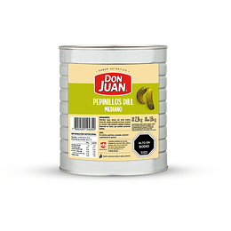 Pepinillos Dill Don Juan Lata 1.6 KG