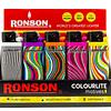 Encendedores Ronson Colourlite Diseños 20UD
