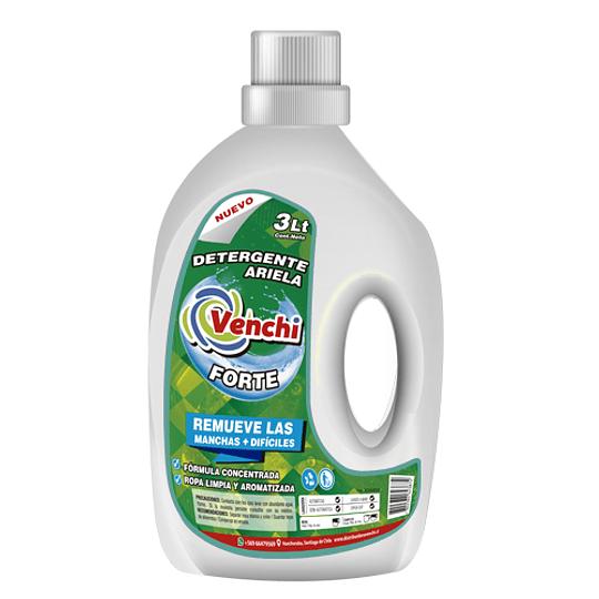 Detergente Forte 3L Quita las Manchas Mas Difíciles