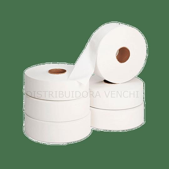 Papel Higiénico Jumbo universal 500mts x6 und HS