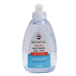 Alcohol Gel 350 ml caja 12 und