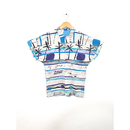Guayabera Vintage OCEAN PACIFIC