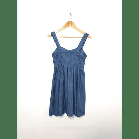 Vestido de mezclilla 8 talla S- M