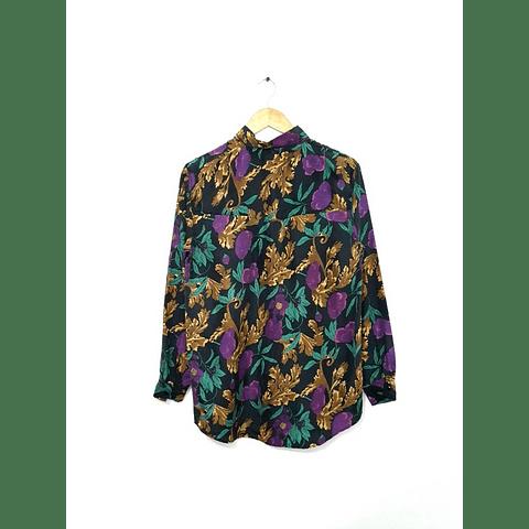 Blusa vintage HER negra