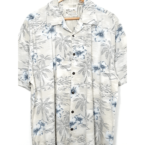 Guayabera vintage THUMS UP beige