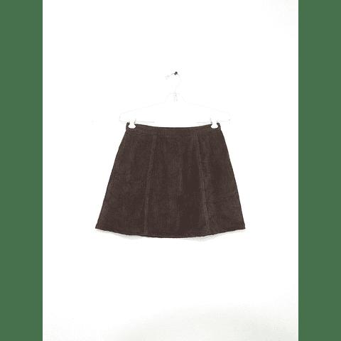 Falda vintage cotelé EXPRESS talla 34-36