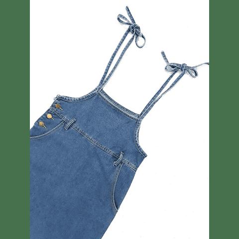 Falda jardinera larga talla S