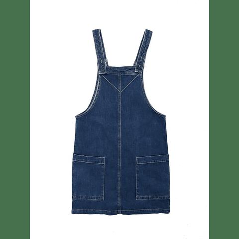 Jumper jardinera azul oscuro talla s