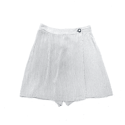 Falda-short STRIPES talla 38