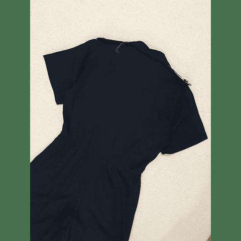 Enterito vintage JB WRIGHT azul marino talla M