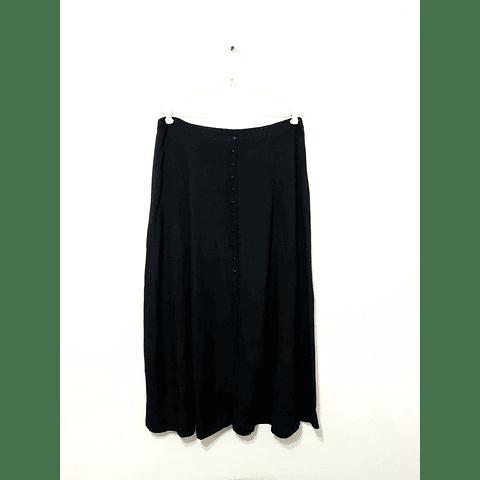 Falda maxi negra AIGEE talla 2XL/3XL