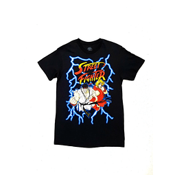 Polera STREET FIGHTER talla S