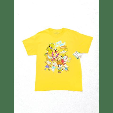 Polera NICKELODEON 90s amarilla TALLA S