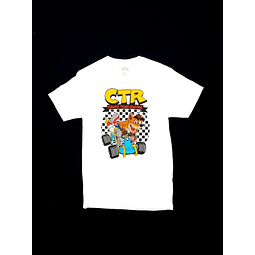 Polera CRASH TEAM RACING talla S