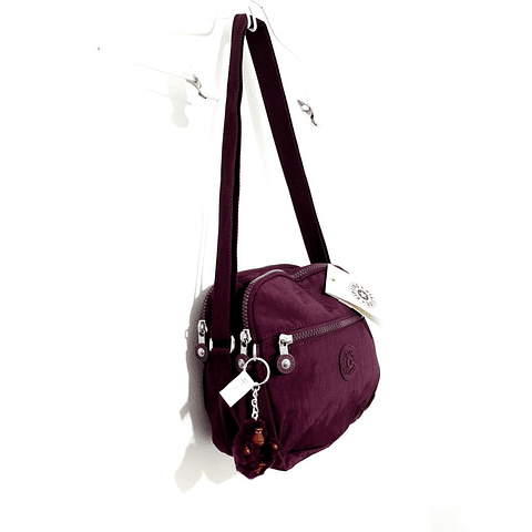 Cartera Crossbody KIPLING KEEFE DARK PLUM