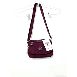 Cartera crossbody KIPLING SABIAN DARK PLUM