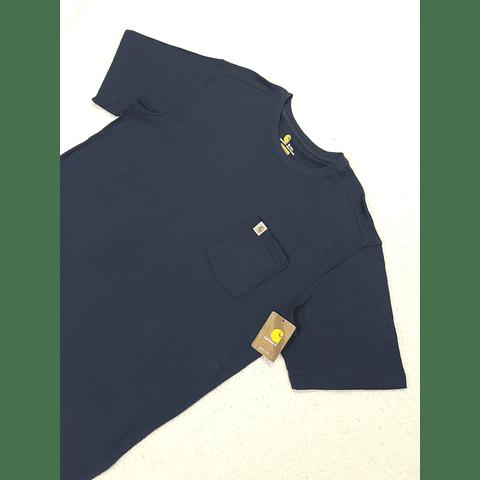 Polera CARHARTT azul marino TALLA XL TALL