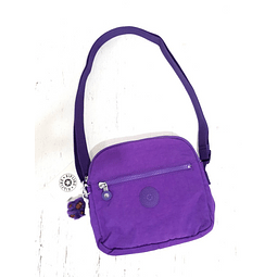 Cartera Crossbody KIPLING KEEFE TILE PURPLE