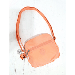 Cartera Crossbody KIPLING KEEFE PEACHY CORAL