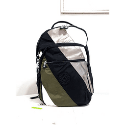 MOCHILA KIPLING SEOUL L BLACK MIX BLOCK