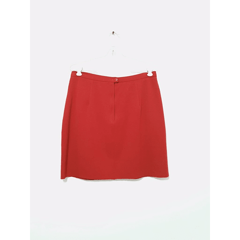 Falda vintage ROJA talla 40
