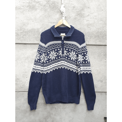 Sweater ST JOHNS BAY azul marino
