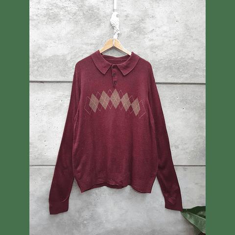 Sweater vintage ROMBOS
